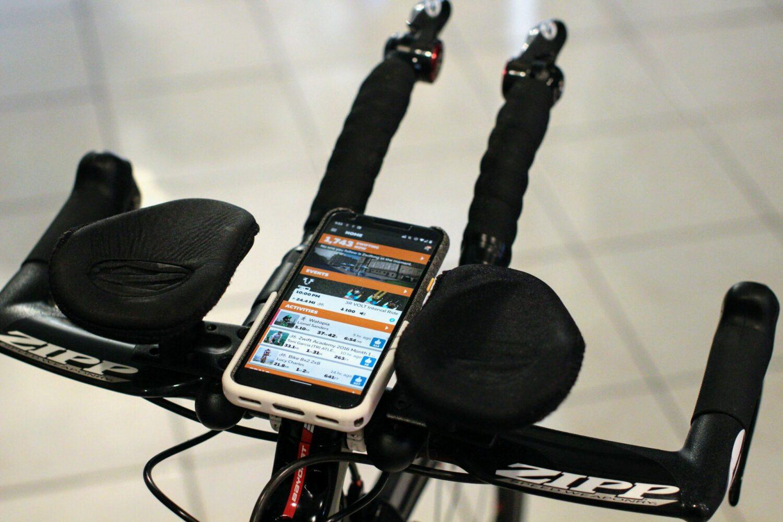 Triathlon Bike Phone Mount