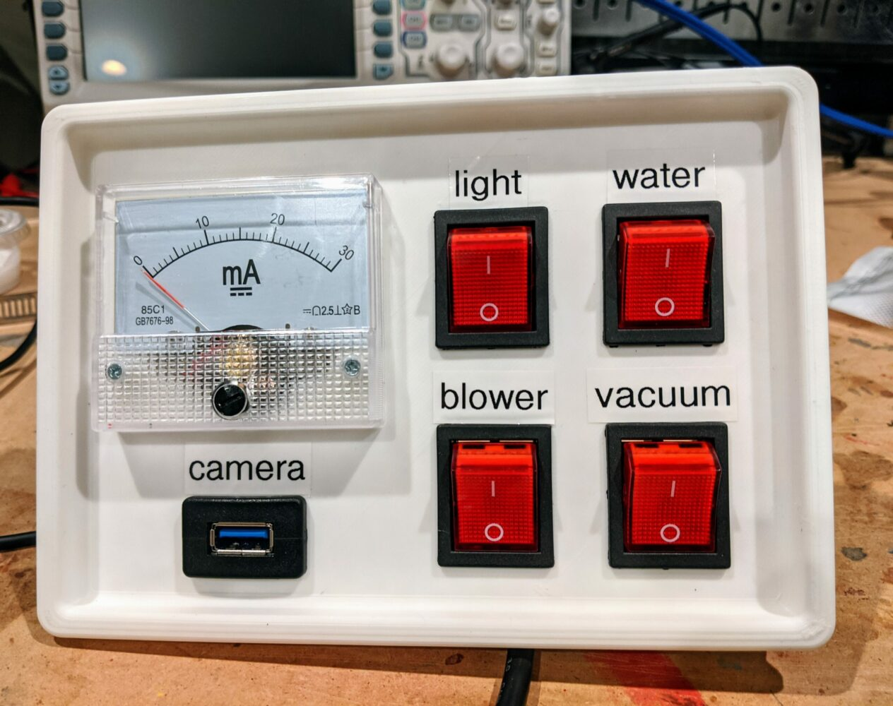 CO2 Laser Control Panel