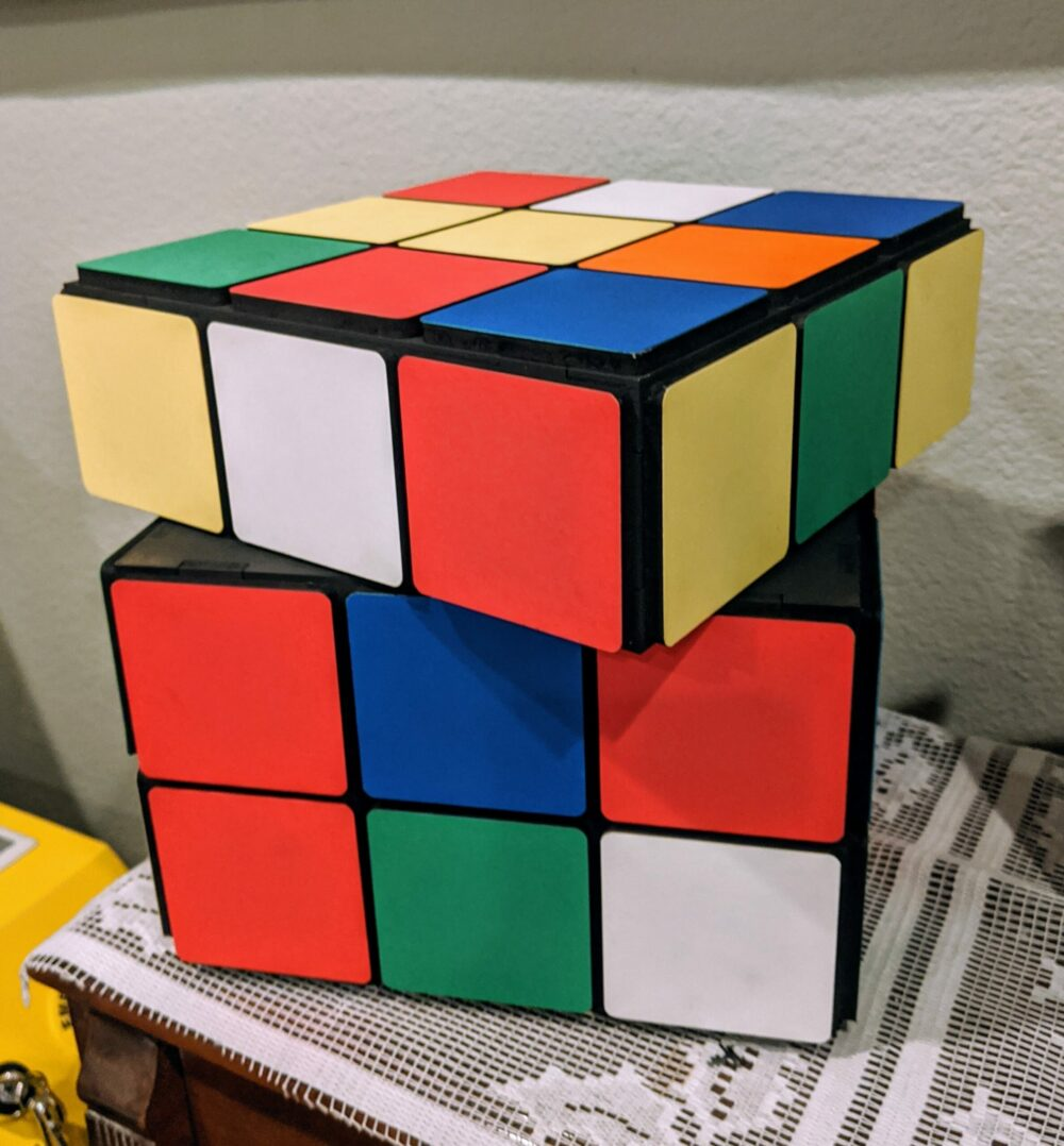 Raspberry Pi Rubik's Cube Case
